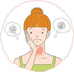 勘違いされやすい甲状腺の病気